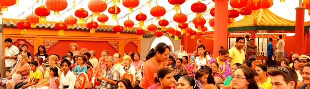 Portes de l'Asie : Une décoration fidèle aux traditions chinoises