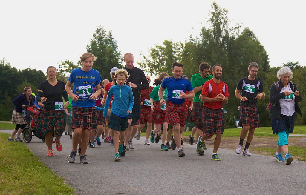 Participate in the Kilt Run!